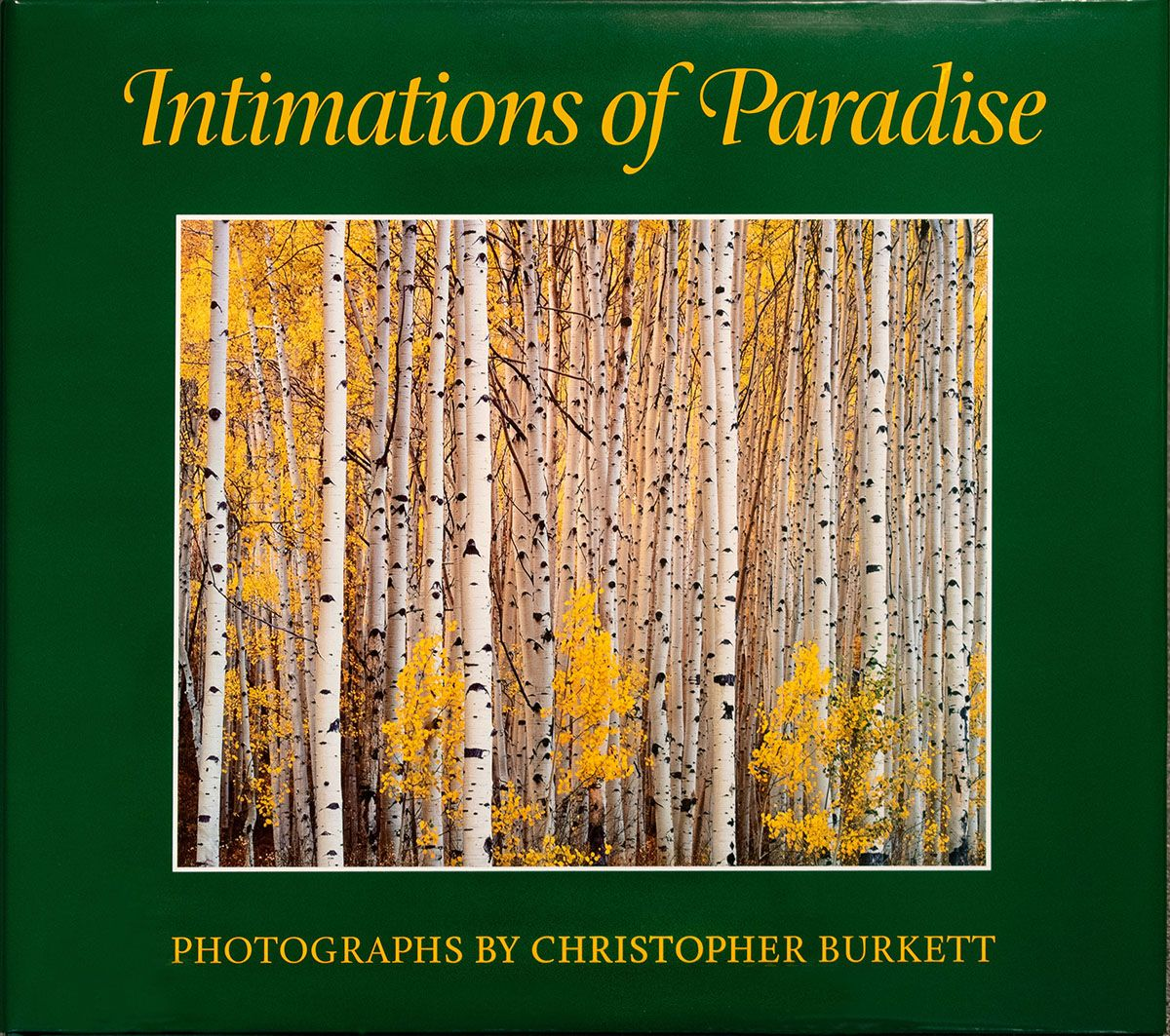 Intimations of Paradise Book