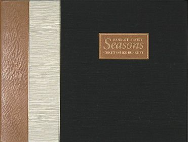 Robert Frost Seasons Book and Print Set