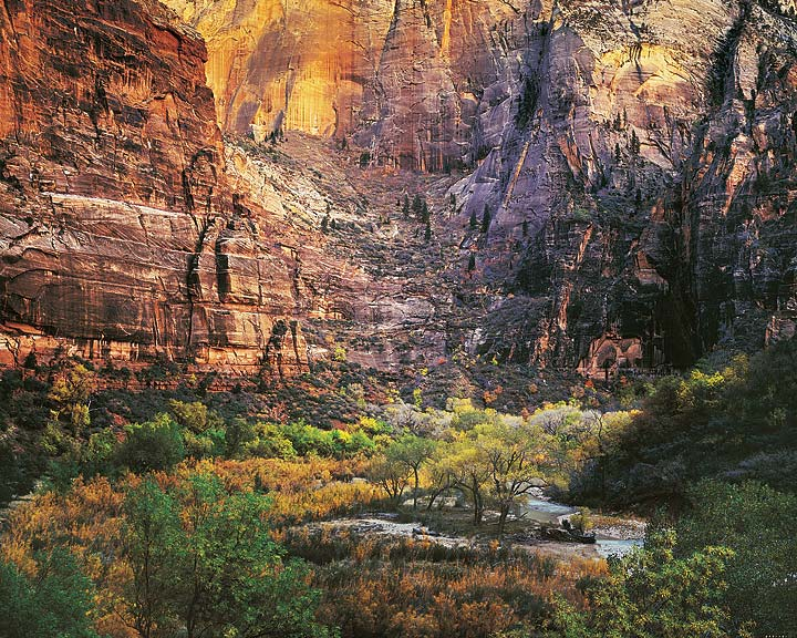 Twilight, Virgin River and Zion Canyon